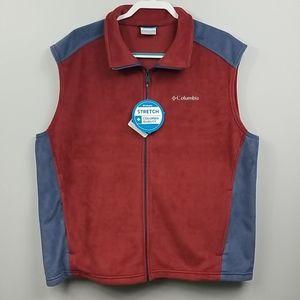Columbia Steens Mountain Fleece Vest Mens XL